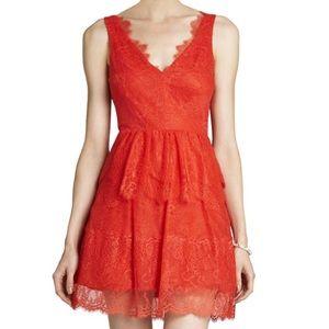 BCBGMAXAZRIA Willa Lace Dress